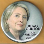 Hillary 6A - Hillary Clinton 2016 Presidential Campaign Button