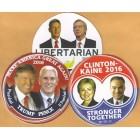 2016 Hopefuls Campaign Buttons (35)