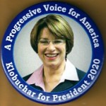 D2020  11A  - A Progressive Voice for America Klobuchar President 2020  Campaign Button