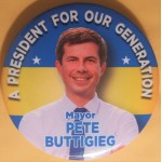 D2020  18B  - A President For Our Generation Mayor Pete Buttigieg  Campaign Button