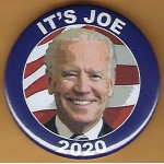 Biden 2A  - It's Joe 2020  Campaign Button
