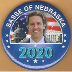 R2020 5A - Sasse Of Nebraska 2020 Campaign Button