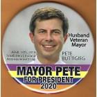 Pete Buttigieg Campaign Buttons (3)