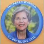 Warren  2B - Elizabeth Warren for President 2020  Campaign Button