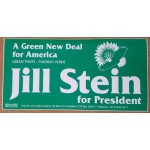 3rd Party 42H - A Green New Deal for American Great Party Jill Stein for President  Bumpersticker