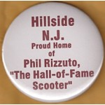 AD 22A - Hillside N.J. Proud Home of Phil Rizzuto Button