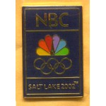 AD 9A - NBC Salt Lake 2002. Lapel Pin