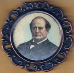 Bryan 9E - (William Jennings Bryan) Campaign Button