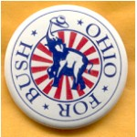 Bush 32B - Bush For Ohio Campaign Button