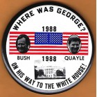 George H.W. Bush Campaign Buttons (24)