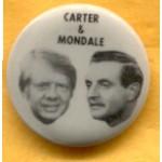 Carter 37C - Carter & Mondale 1976 Campaign Button