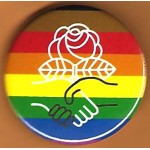 Cause 7G - (Democratic Socialist Of America LGBTQ) Campaign Button