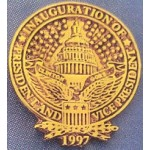 Clinton 2K  - Inauguration of President and Vice President Clinton Gore 1997 Lapel Pin