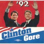 Clinton 60B - Clinton Gore '92 Campaign Button