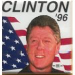 Clinton 91A - Clinton '96 Campaign Button