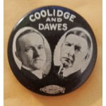 Coolidge 5B - Coolidge And Dawes Campaign Button