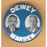 Dewey 5E - Dewey Warren Campaign Button