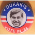 Michael Dukakis Campaign Buttons (28)