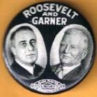 Franklin D. Roosevelt Campaign Buttons (7)