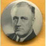 FDR 2C - (President Franklin Roosevelt) Campaign Button