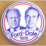 Ford 10D - Ford Dole 1976 Campaign Button