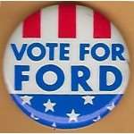 Ford 1M  - Vote For Ford Campaign Button