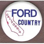 Ford 9E - California Ford Country Campaign Button
