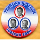 Al Gore Campaign Buttons (26)