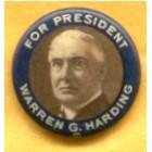 Warren G. Harding Campaign Buttons (2)