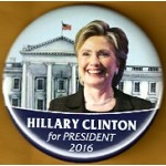 Hillary - 27B - Hillary Clinton for President 2016 Campaign Button