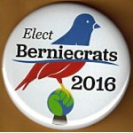Sanders 3A - Elect Berniecrats 2016 Campaign Button