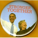 Hillary  41A - Stonger Together Campaign Button