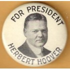 Herbert Hoover Campaign Buttons (4)