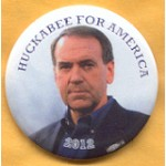 Hopeful 88N - Huckabee For America 2012 Campaign Button