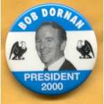Hopeful 3C - Bob Dornan President 2000 Campaign Button
