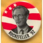 Hopeful 35E - Rockefeller '92 Campaign Button