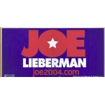 Hopeful 49E - Joe Lieberman (Bumper Sticker)