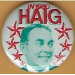 Hopeful 99N - In 1980 Haig Campaign Button