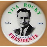 Hopeful 99T - Viva Rocky Para 1968 Rockefeller Presidente Campaign Button
