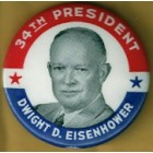 Dwight Eisenhower IKE Campaign Buttons (9)
