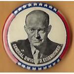 IKE 5K - General Dwight D. Eisenhower Campaign Button