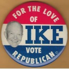 Dwight Eisenhower IKE Campaign Buttons
