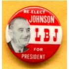 Lyndon B. Johnson Campaign Buttons