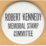 Kennedy RFK 21M - Robert Kennedy Memorial Stamp Committee Campaign Button