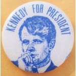 Kennedy RFK 49F - Kennedy For President Campaign Button