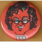 Kennedy EMK 22F - Ted Campaign Button