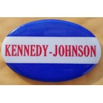 Kennedy JFK 40C -  Kennedy Johnson Campaign Button