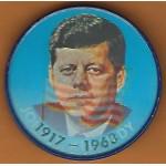 Kennedy JFK 11M -  John F. Kennedy 35th President 1917 - 1963  Flasher Button