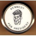 Kennedy JFK 3J -  Kennedy For President Tie Clip