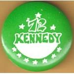 Kennedy EMK 17M - Kennedy 72 Campaign Button